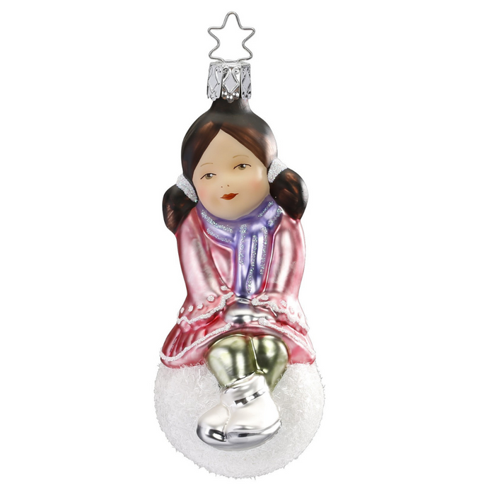 Inge-Glas Canada - Glass Christmas Ornaments - Lovely Hannah 2018 Annual Ornament