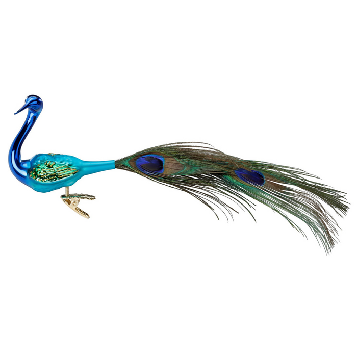 Inge-Glas Canada - Glass Christmas Ornaments - Magnificent Peacock