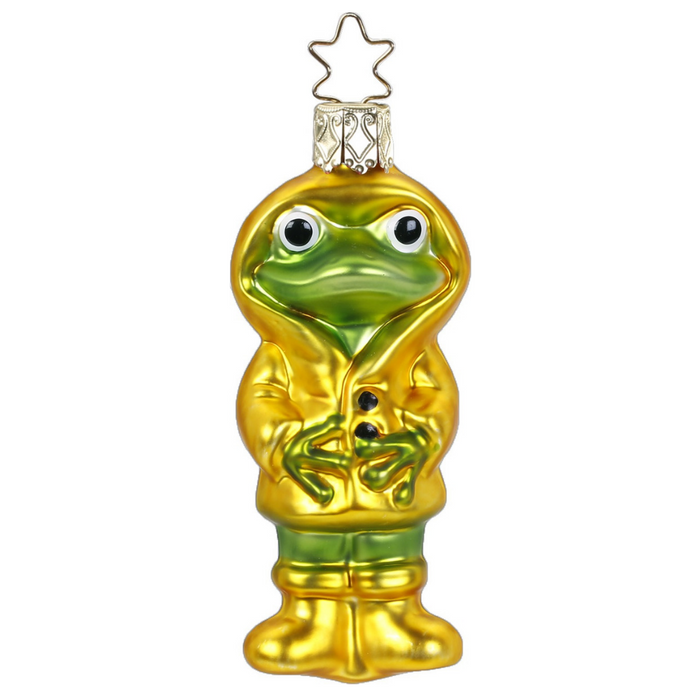 Inge-Glas Canada - Glass Christmas Ornaments - Rainy Frog