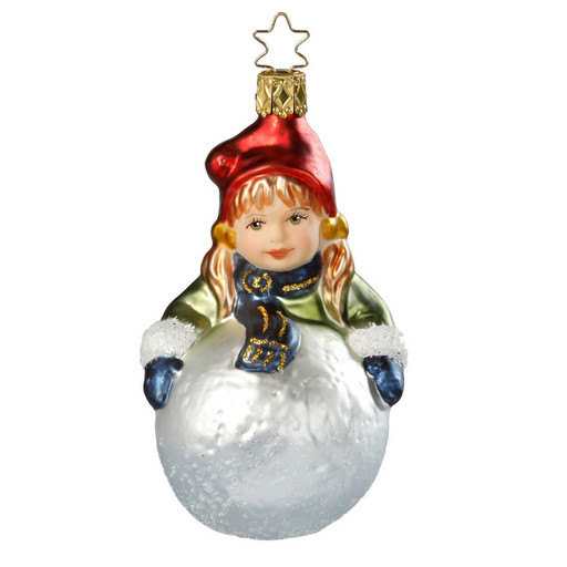 Inge-Glas Canada - Glass Christmas Ornaments - Snow Fun