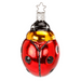 Inge-Glas Canada - Glass Christmas Ornaments - Sparkling Ladybug