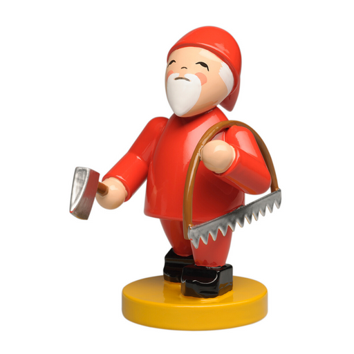Wendt & Kühn Blumenkinder and Friends - Gnome with Bow Saw and Axe