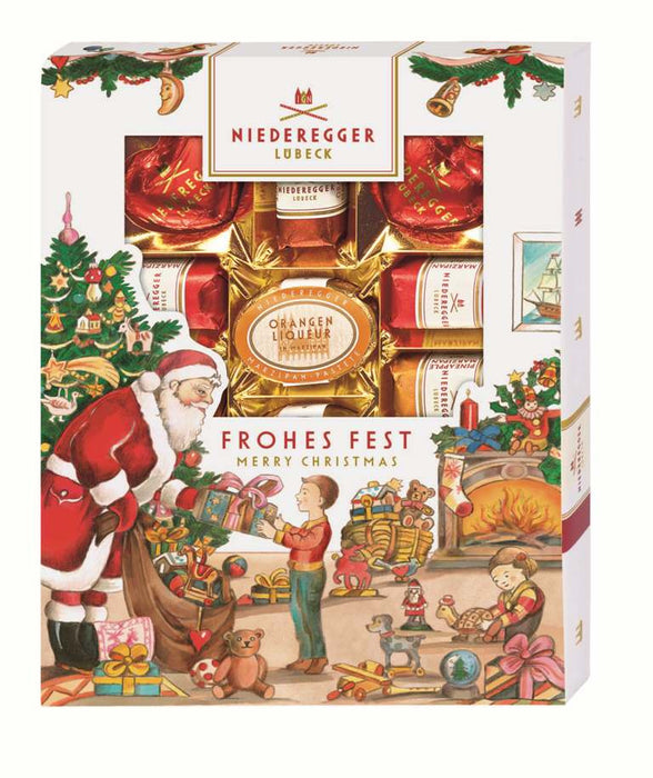 Gingerbread World Niederegger Marzipanerie in Christmas Packaging