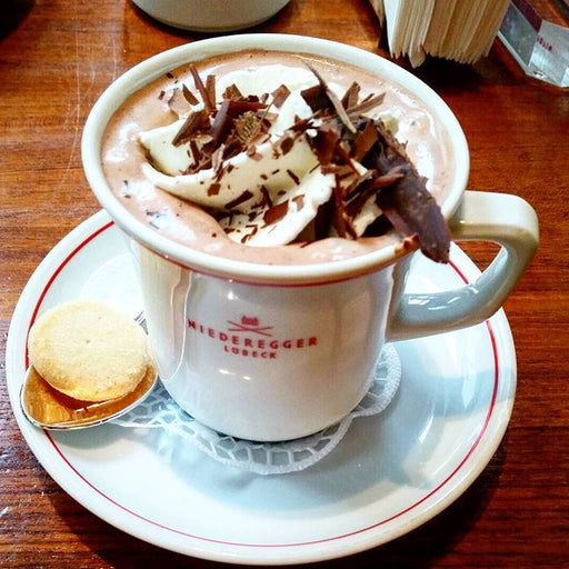 Gingerbread World Niederegger Canada - Marzipan flavored Hot Chocolate Mix