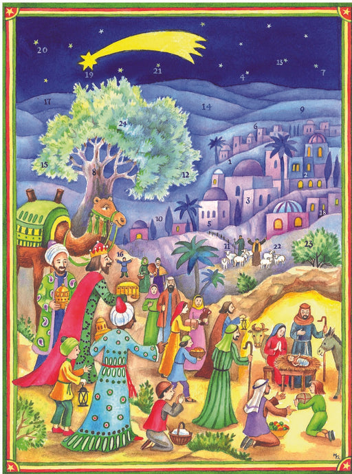 Richard Sellmer Verlag Chocolate-filled Advent Calendar, Three Kings