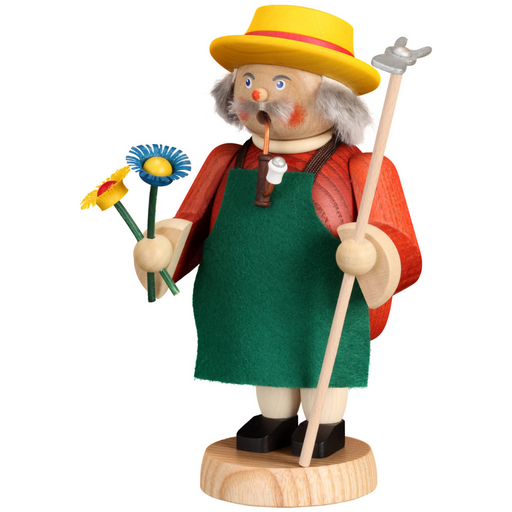 Seiffener Volkskunst Traditional Christmas Incense Smoker - Traditional Gardner