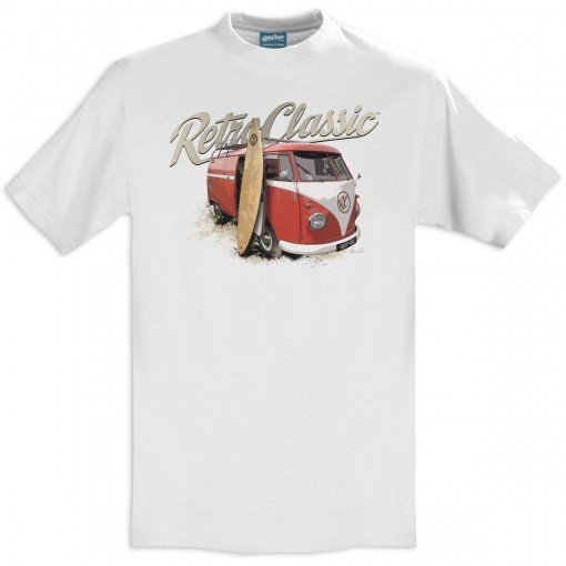 Gingerbread World European Ware Haus - RetroClassic Clothing Vintage VW T-Shirt - Women's Surfer Bus