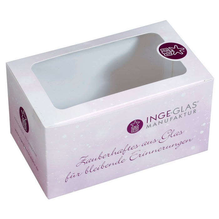 Gingerbread World Inge-Glas Gift Box for Glass Christmas Tree Ornaments