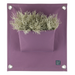 Blooming Walls Canada The Green Pockets Hanging Planter - Lavender
