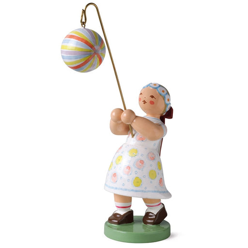 Wendt & Kühn Blumenkinder - Girl with Round Lantern, Striped. Wendt and Kuehn Canada