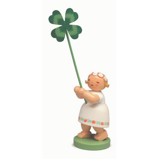 Wendt & Kühn Blumenkinder - Girl with Four Leaf Clover WK5248-11
