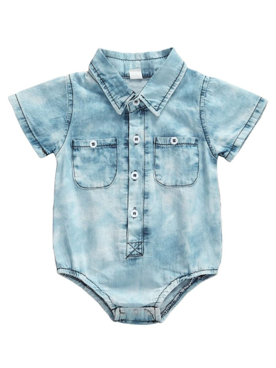 Unisex Denim Jumpsuit