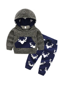 Reindeer Sweats Set