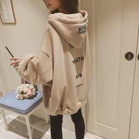 Winter Oversized Kpop Hoodies Girl