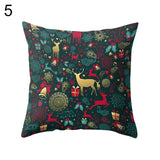 Merry Christmas Star Tree Pillow Case