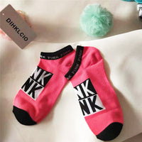 Pink Motion Socks Colorful