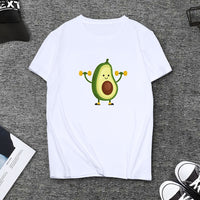 Summer Lovely Avocado T-shirt for Women
