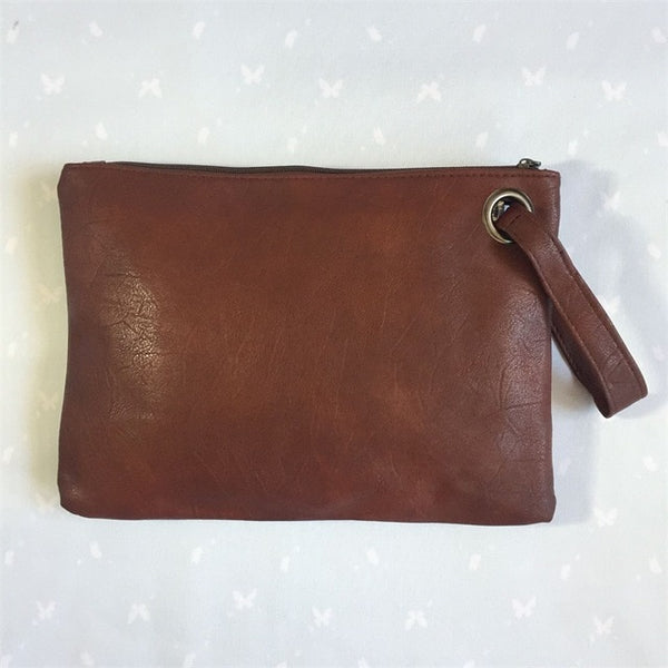 Handbag Leather Envelope