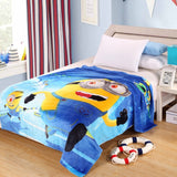 Cartoon Spiderman Flannel Blanket Adult/kids Queen Size 150x200cm
