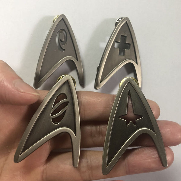 Star Cosplay Trek Command Division Badge