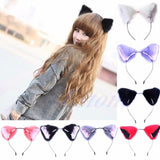 Fashion Girl Cute Cat Fox Ear Long Costume