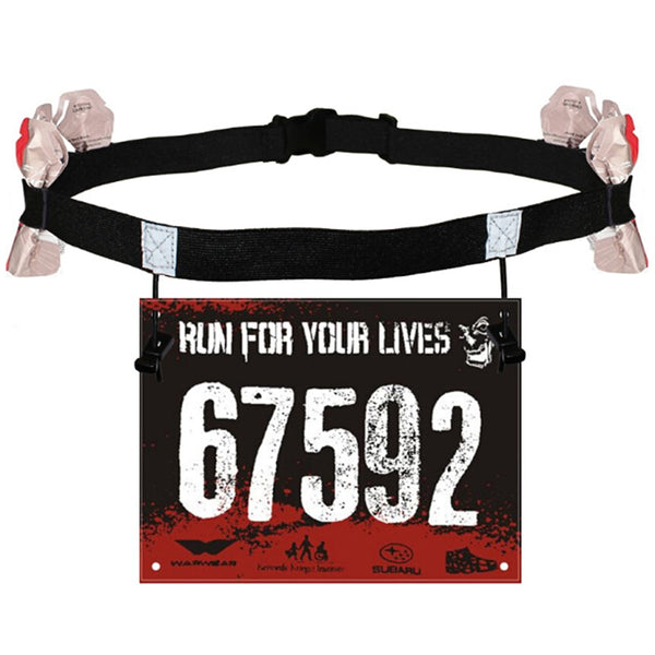 Unisex Marathon Race Number Belt
