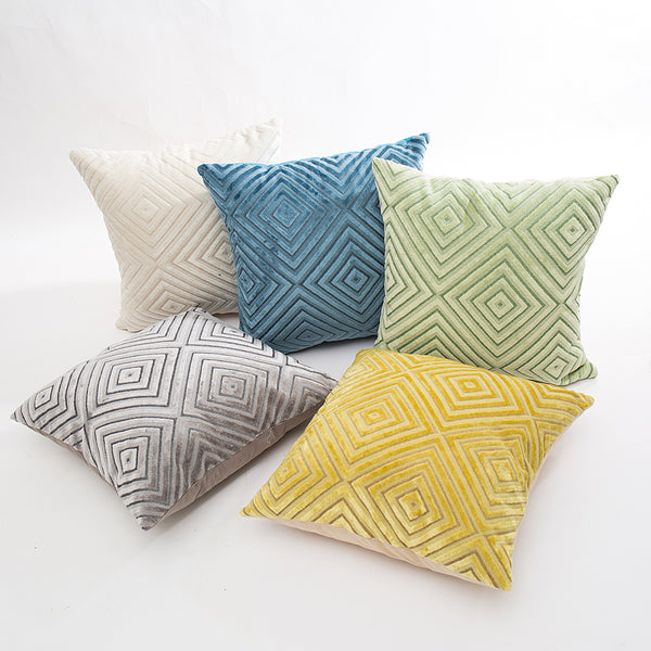 Solid Color Pillowcases Cover 45*45cm
