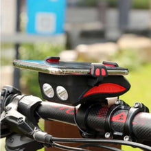 Load image into Gallery viewer, 4 in 1 Bicycle Light - Supreme Phone Gadgets