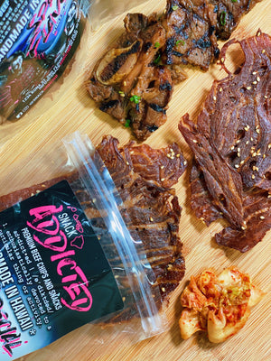 Korean BBQ Beef Chips