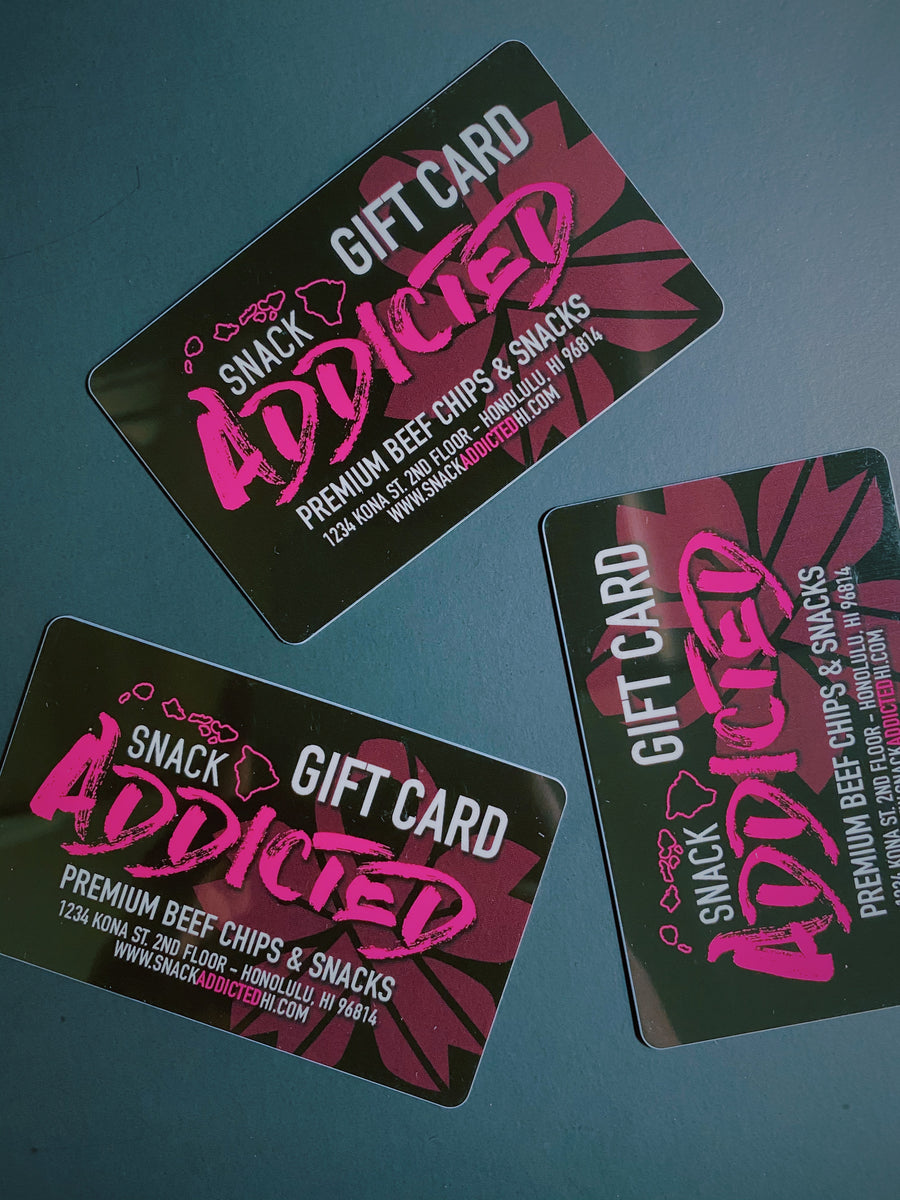 SnackAddicted Gift Cards