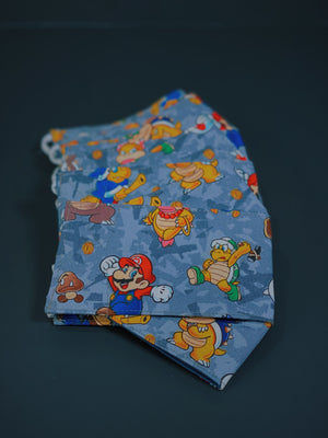 (Super Mario 1) Origami Cloth Mask
