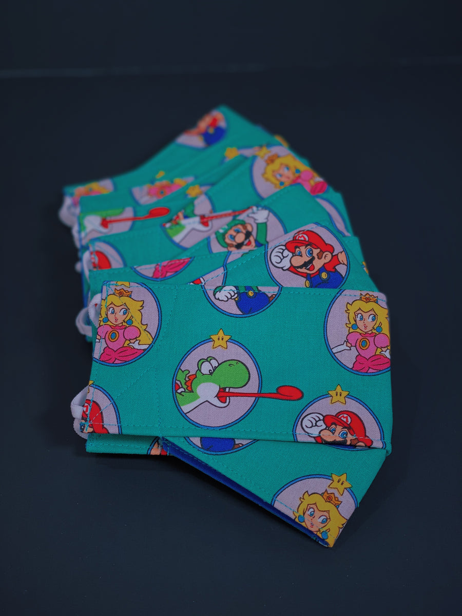 (Super Mario 2) Origami Cloth Mask