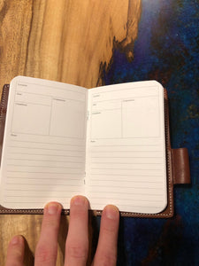 Adventure Log/Field Notes Cover