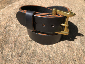English Bridle Leather Belt