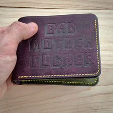 Load image into Gallery viewer, Bad Mother Fucker Bifold Wallet