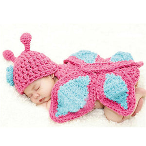 Crocheted Costumes and Props for Newborns (Limited Stock)