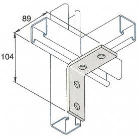Channel Angle Brackets 2-Hole - P1026