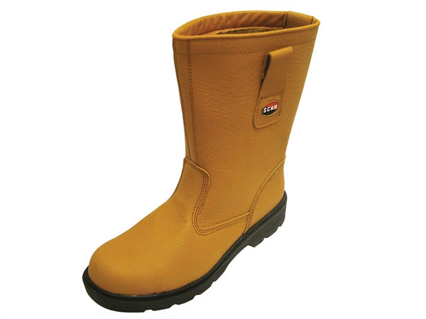 Boot Rigger Tan S10 - BRTS10PE