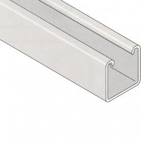 Channel Plain 41mm x 41mm 3m - CP41X41X3M