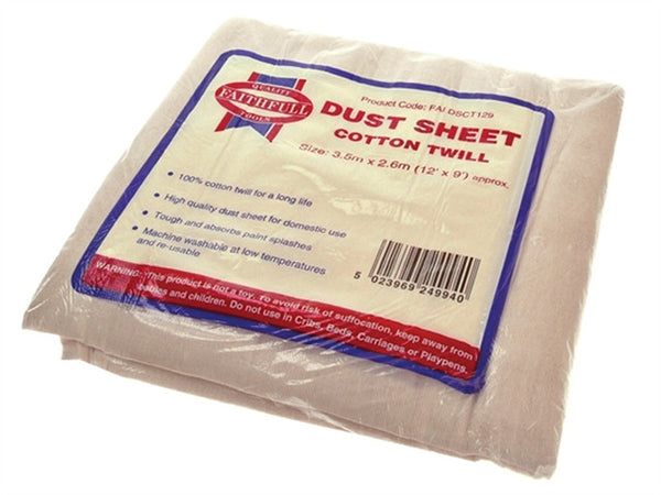 Dust Sheet Cloth 12ft x 9ft - DSC12X9PP