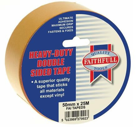 Tape Double Sided 12mm x 50m - TDS12MMX50M