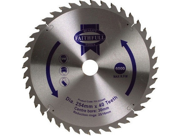 "Blade 10"" Mitre Saw (for wood) - B10INMSW40TAD"
