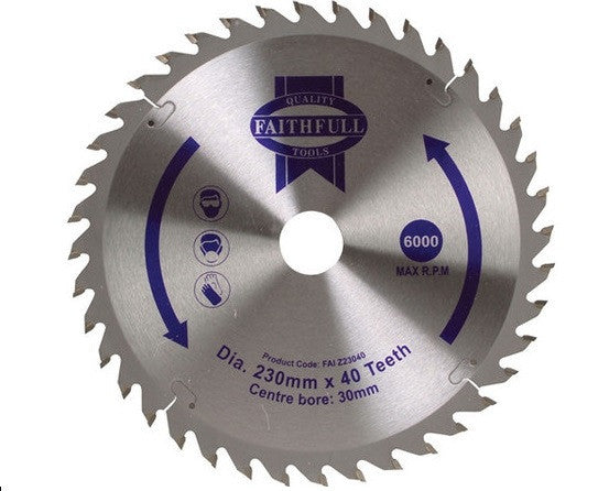 "Blade 9.5"" TCT 60Teeth - B9INTCT60TAD"