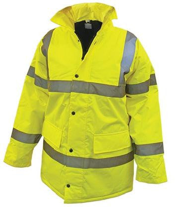 Jacket Hi-Vis Anorak Yellow Small - JHVAYSPE