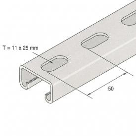 Channel Slotted 41 x 21 3M - SC4121/3M