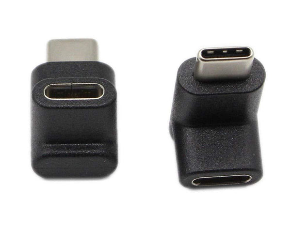 USB C Angle Adapter [2 Pack] Upward/Downward - GodSpin