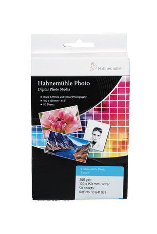 HAHNEMÜHLE Photo Luster 260gsm, 10x15 -50bl