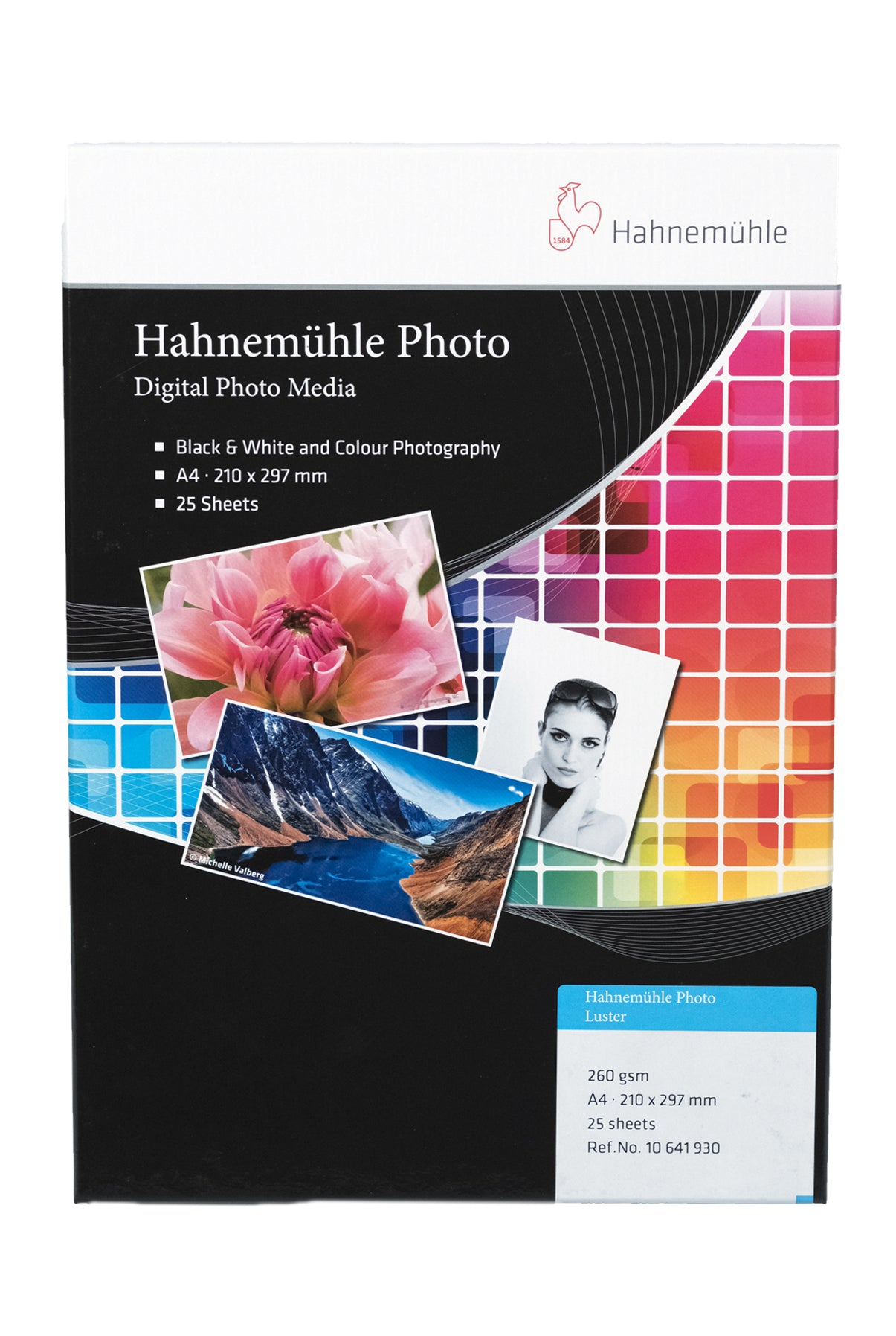 HAHNEMÜHLE Photo Luster 260gsm, A4 -25bl