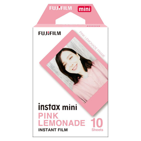 FUJIFILM Instax Mini, Pink Lemonade