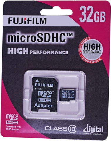 Micro SDHC 32GB UHS-I High Prof.